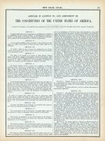 Page 132 -- Constitution of the United States 4, World Atlas 1911c from Minnesota State and County Survey Atlas
